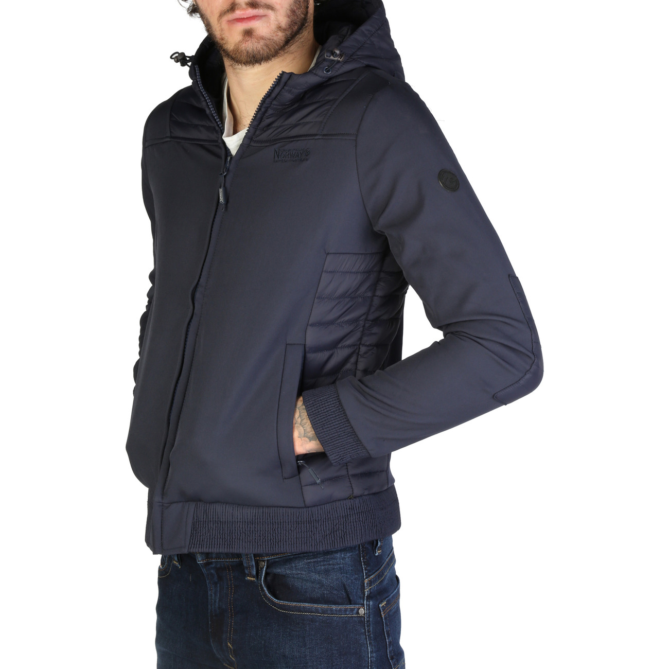 man Softshell Homme Automne Geographical Veste Chaleur Norway fOqXnw1
