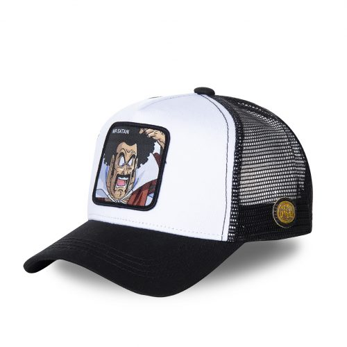 CASQUETTE BASEBALL TRUCKER CAPSLAB BY FREEGUN DRAGON BALL MR SATAN CLDBZ1SAT1