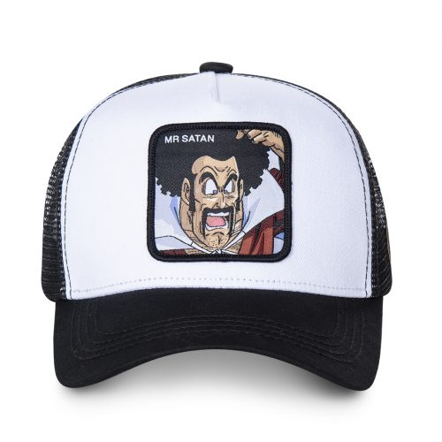 CASQUETTE BASEBALL TRUCKER CAPSLAB BY FREEGUN DRAGON BALL MR SATAN CLDBZ1SAT1#1