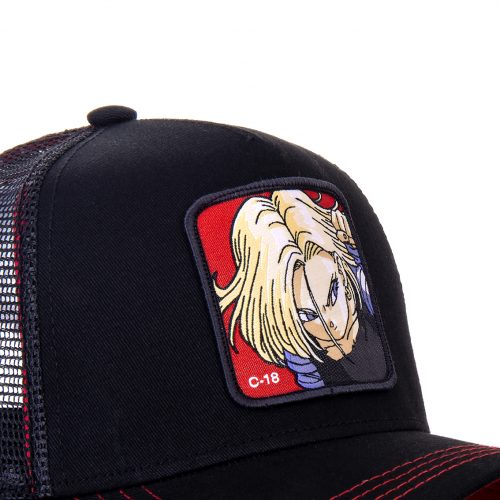 CASQUETTE BASEBALL TRUCKER CAPSLAB BY FREEGUN DRAGON BALL C-18 CLDBZ21C18B#2
