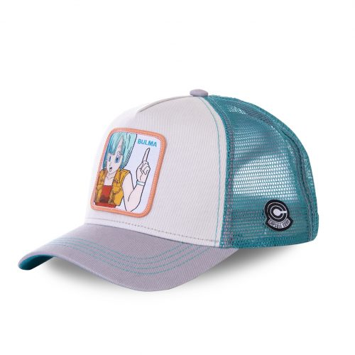 CASQUETTE BASEBALL TRUCKER CAPSLAB BY FREEGUN DRAGON BALL BULMA 2 CLDBZ2BUL1