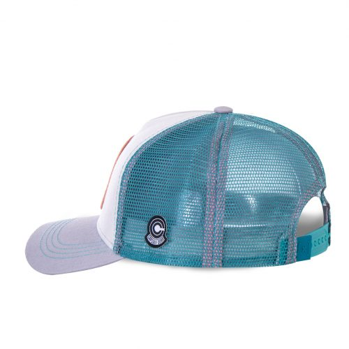 CASQUETTE BASEBALL TRUCKER CAPSLAB BY FREEGUN DRAGON BALL BULMA 2 CLDBZ2BUL1#3