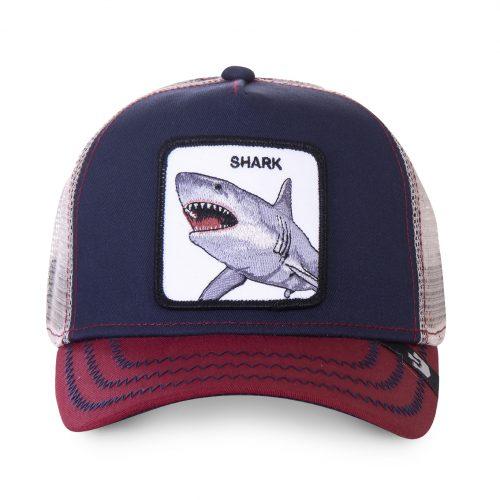 GOORIN BROS CASQUETTE BASEBALL TRUCKER SNAPBACK GOORIN 101-0565-NVY BIG SHARK GB01BIGSHARK#1