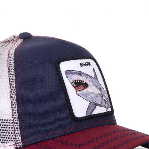 GOORIN BROS CASQUETTE BASEBALL TRUCKER SNAPBACK GOORIN 101-0565-NVY BIG SHARK GB01BIGSHARK#2