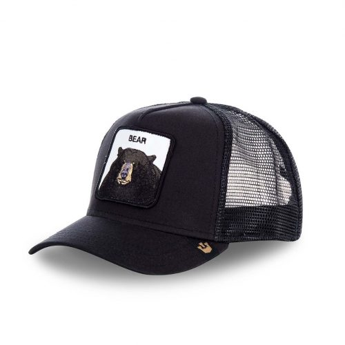GOORIN BROS CASQUETTE BASEBALL TRUCKER SNAPBACK GOORIN 0220-BLK BLACK BEAR GB01BLACKBEAR