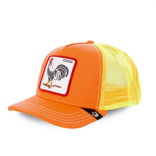 GOORIN BROS CASQUETTE BASEBALL TRUCKER SNAPBACK GOORIN COCK 101-0733-ORANGE TAMALE GB01COCK