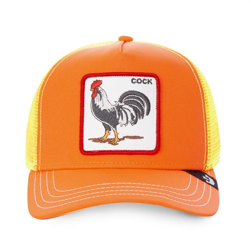 GOORIN BROS CASQUETTE BASEBALL TRUCKER SNAPBACK GOORIN COCK 101-0733-ORANGE TAMALE GB01COCK#1