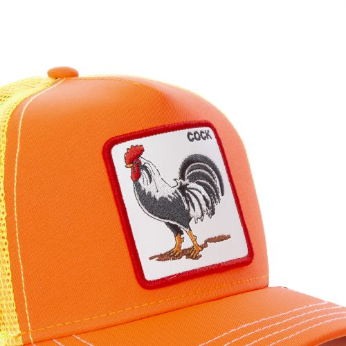 GOORIN BROS CASQUETTE BASEBALL TRUCKER SNAPBACK GOORIN COCK 101-0733-ORANGE TAMALE GB01COCK#2