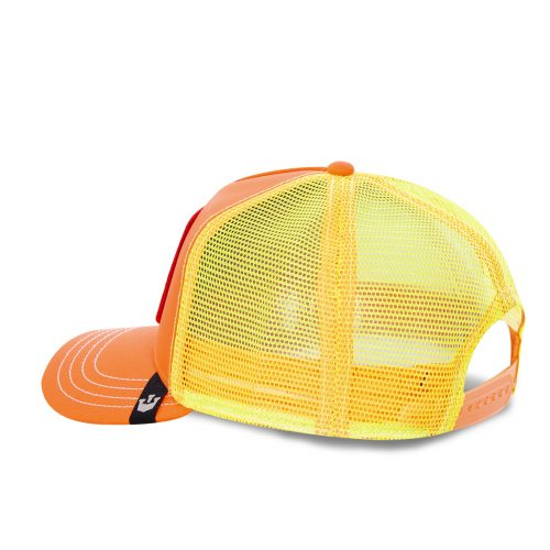 GOORIN BROS CASQUETTE BASEBALL TRUCKER SNAPBACK GOORIN COCK 101-0733-ORANGE TAMALE GB01COCK#3