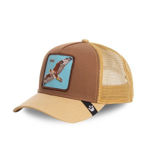 GOORIN BROS CASQUETTE BASEBALL TRUCKER SNAPBACK GOORIN 101-0488-BRO - HIGH IN THE SKY GB01HIGH