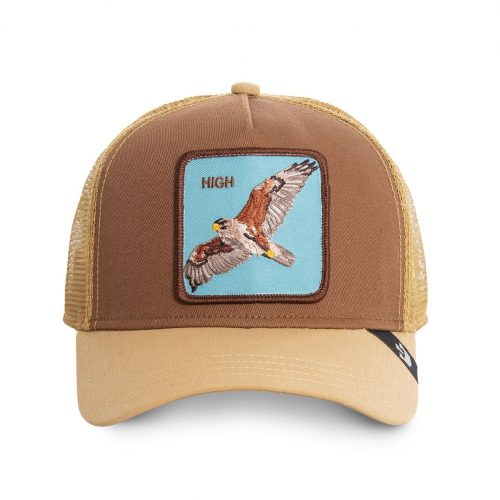 GOORIN BROS CASQUETTE BASEBALL TRUCKER SNAPBACK GOORIN 101-0488-BRO - HIGH IN THE SKY GB01HIGH#1