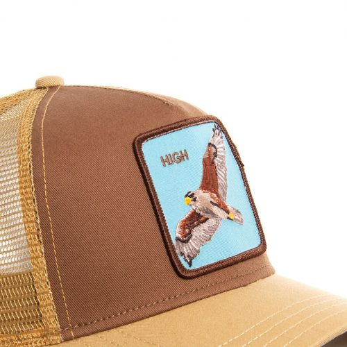 GOORIN BROS CASQUETTE BASEBALL TRUCKER SNAPBACK GOORIN 101-0488-BRO - HIGH IN THE SKY GB01HIGH#2